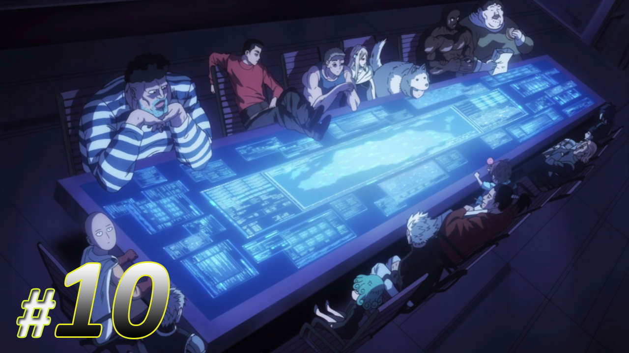 One Punch Man Episode 10 Subtitle Indonesia | Action Movie