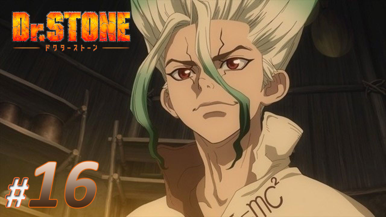 nonton streaming anime dr stone sub indo episode 16