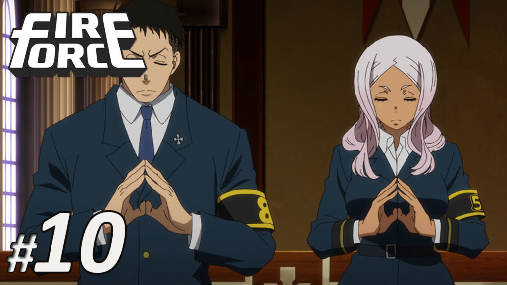 Nonton Fire Force Episode 10 Subtitle Indonesia   Action Movie