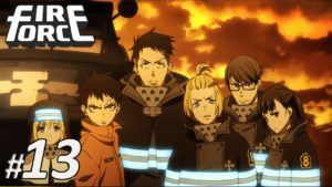 nonton anime fire force sub indo episode 13