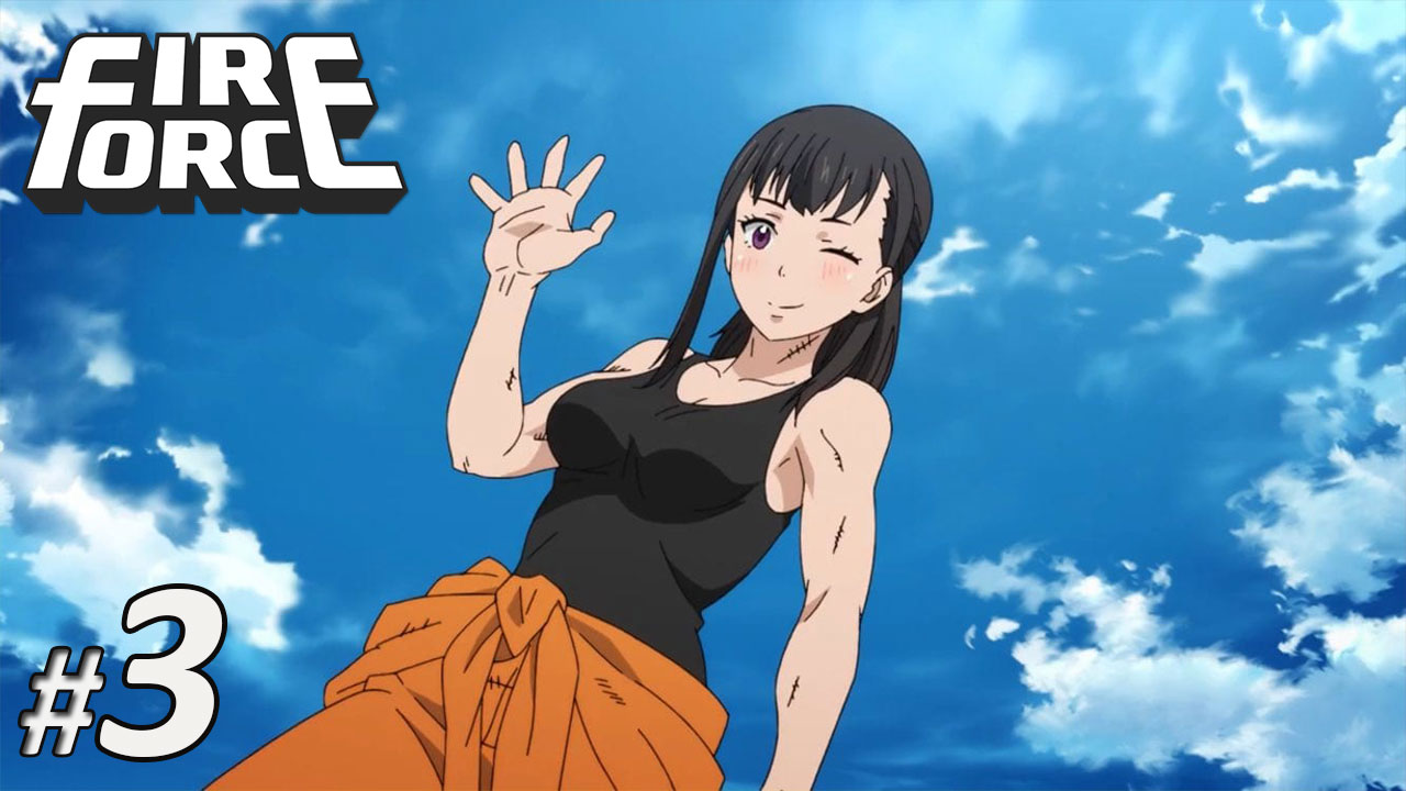 Nonton Fire Force Episode 3 Subtitle Indonesia | Action Movie