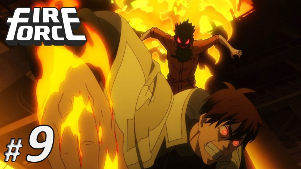 Nonton Fire Force Episode 9 Subtitle Indonesia   Action Movie
