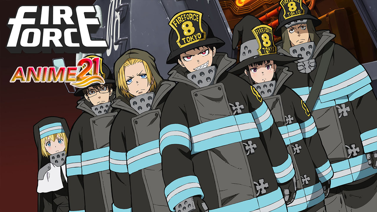 fire force, anime fire force sub indo, nonton streaming fire force
