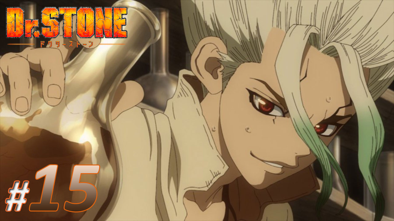 nonton streaming anime dr stone sub indo episode 15